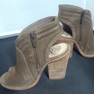 Vince Camuto Koral Open Toe Booties